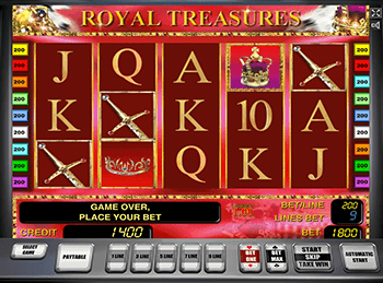 Royal Treasures в Вулкан 24